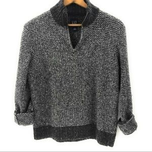 GAP Women's Wool Blend Pullover Sweater, Small